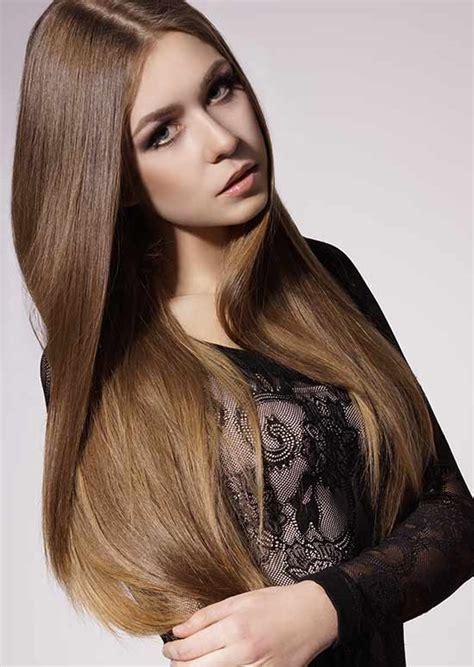 80 model rambut panjang wanita lurus layer berponi dll