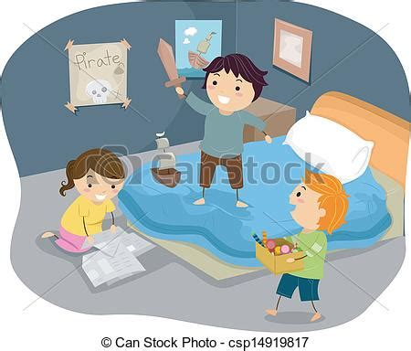 role playing games for the bedroom illustration of stickman kids playing pirates royalty