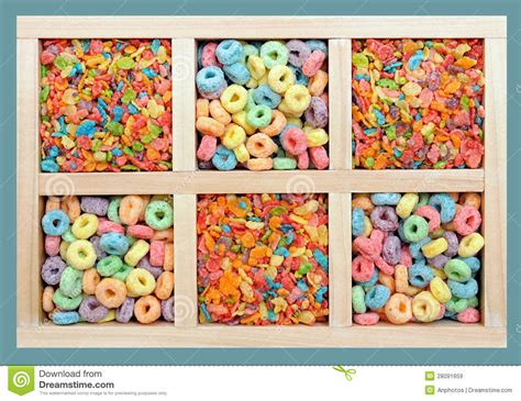 colorful cereal colorful cereals royalty free stock images image 28091659
