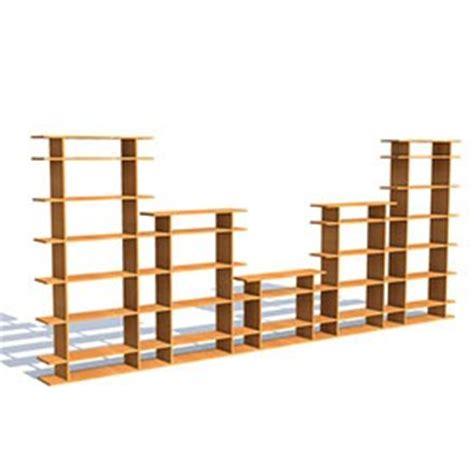 15 Wide Bookshelf 15 Wide 3 Tier Bookshelf 3d Object Free Artlantis