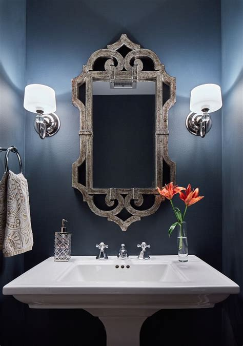 best paint color for powder room with no windows 25 best ideas about blue powder rooms on pinterest