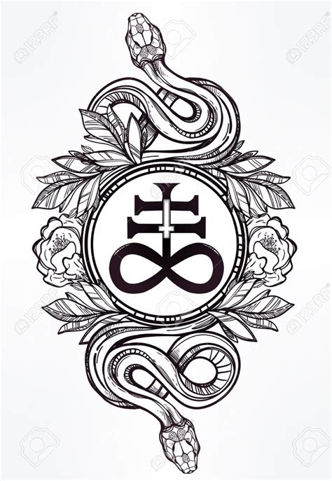 occult tattoo designs ancient lucifer symbols