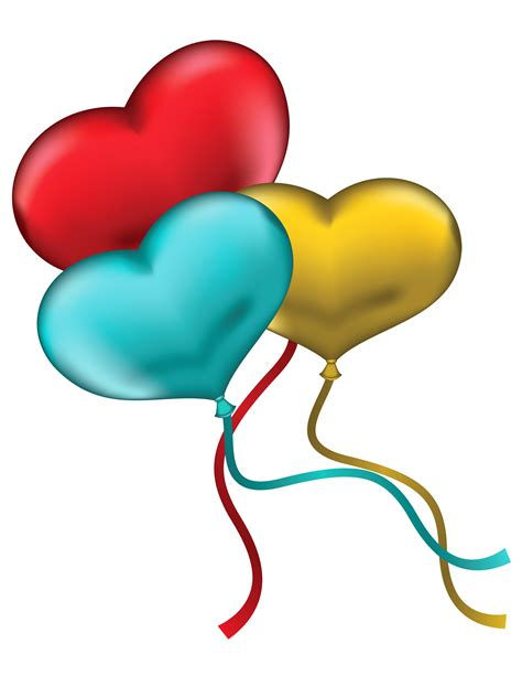Two balloons clipart