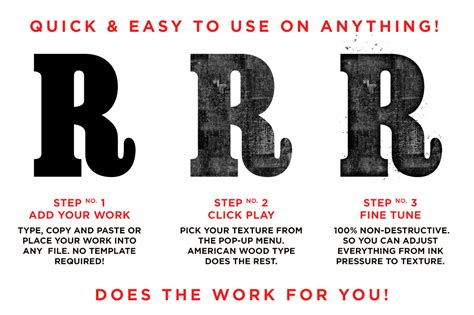 American Wood Type the poster designer s toolkit add ons tools tips creative market