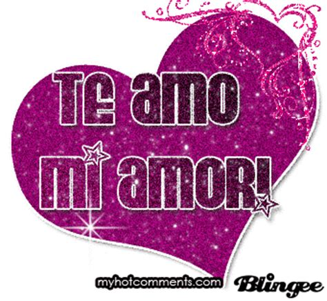 Imagenes Animadas De Te Amo Mi Amor | te amo mi amor picture 91752311 blingee com