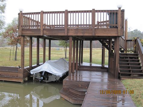 Decks On Houses by Boat Houses Sun Decks And Slip Covers 187 Waterfront Build
