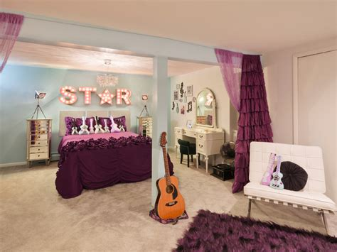 taylor swifts bedroom rock star room transitional kids cleveland by taylor design studio