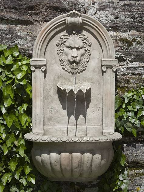 Garden Wall Fountains Best 25 Outdoor Wall Fountains Ideas On Water