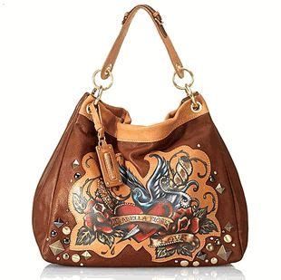 Fiore Peace Out Hobo by Hobo Handbags Peace And Brown On