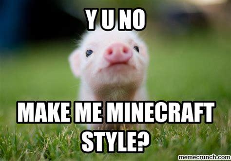 Piglet Meme - ohana girl08 on planetminecraft com