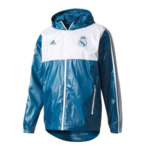 Parka Bola Real Madrid Army 2017 2018 real madrid adidas 3s windbreaker grey for only c 111 46 at merchandisingplaza ca