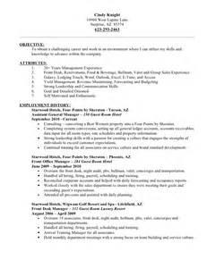 Valet Attendant Resume by Resume