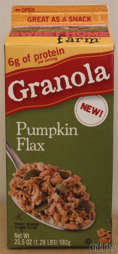 review sweet home farm pumpkin flax granola