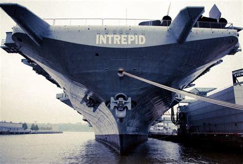 portaerei new york intrepid sea air space museum visitiamo la portaerei