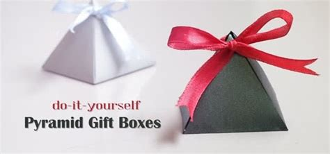 Origami Gifts For - how to origami pyramid gift boxes 171 origami