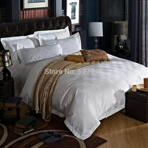 Hotel Bedding Collection Sets Discount Luxurious Five Hotel Style 4pc 100 Cotton King Size Bedding Set