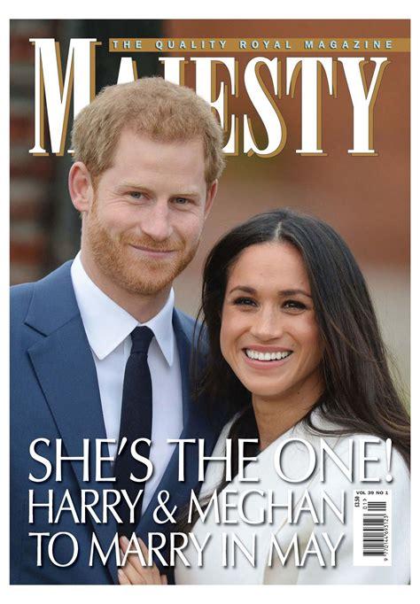 harry and meghan 2018 prince harry meghan markle wedding 2018 planner harry meghan memorabilia volume 1 books meghan markle and prince harry in majesty magazine