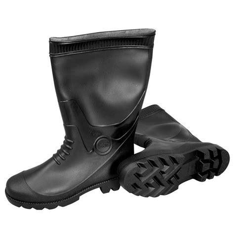 pvc boots mat size 7 black pvc boots 887007b the home depot