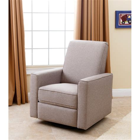 Reclining Glider For Nursery by Abbyson Living H Ton Nursery Swivel Glider Recliner Chair