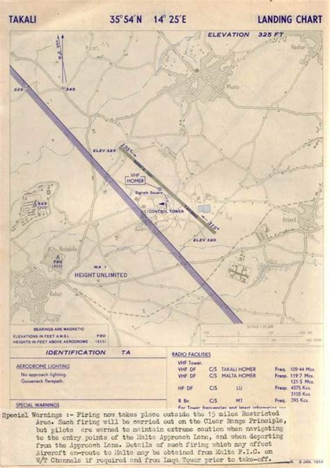 ta airport map ta qali malta information