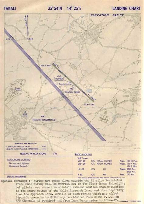 ta airport map ta qali malta information