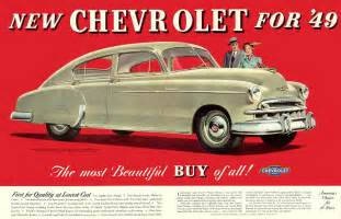 Chevrolet Advertising 1949 Chevrolet Ad 01