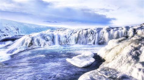 frozen waterfall wallpaper frozen waterfall wallpaper 8217
