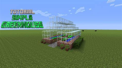 how do i build a greenhouse in my backyard minecraft how to build a simple greenhouse tutorial