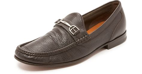 bally loafers bally surrey loafers in brown for safari lyst