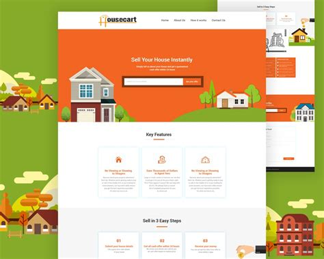 buying house website template 28 images screen css