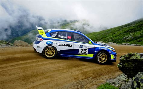 subaru rally racing subaru wrx stis sema 2011 motor trend
