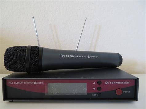 Ew 100 G2 Sennheiser sennheiser ew100 g2 wireless system reverb
