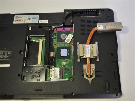 dell laptop battery reset button dell inspiron 1545 cpu heat sink replacement ifixit