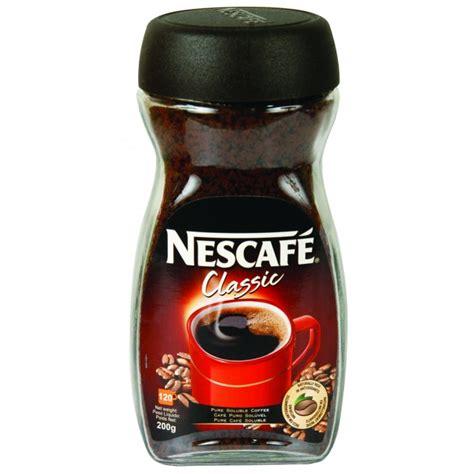 NESCAFE CLASSIC COFFEE 200G   Poundstretcher