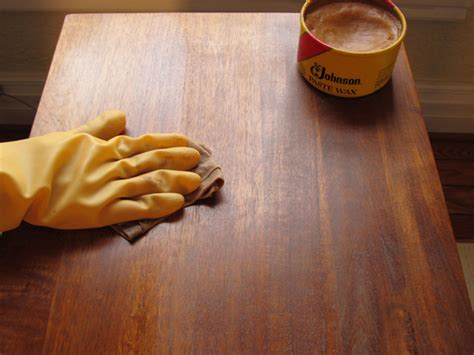 wax for wood table wax vs for protection your wood furniture