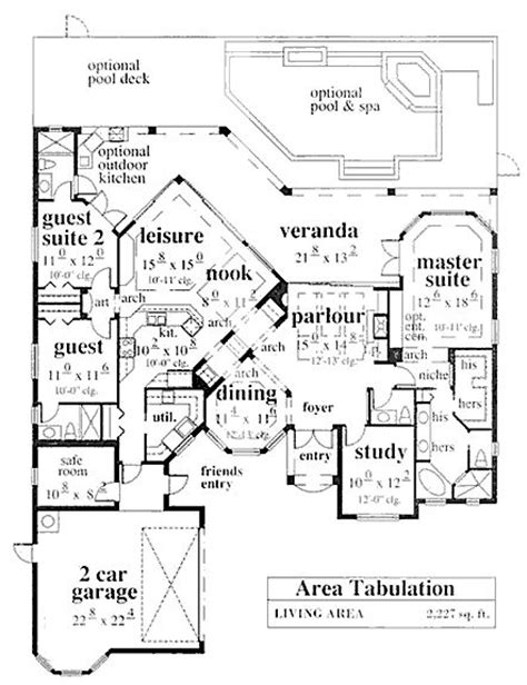 house plans with safe rooms coastal home plans ellison bay safe room houseplans