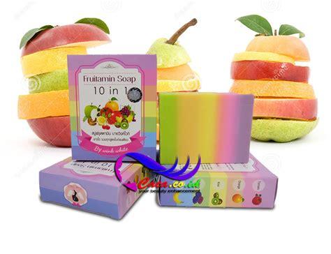 Sabun Fruity Soap sabun pemutih badan fruitamin soap