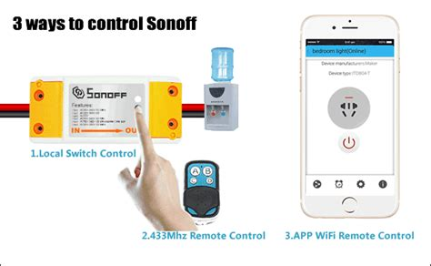 app controlled light switch automatic light switch sonoff and slher