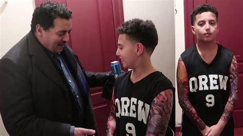 tattoo prank 11 year does prank on