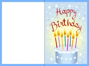 birthday card: free print out birthday card print out