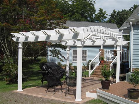 curved pergola kits arched low maintenance vinyl pergolas pergola kits