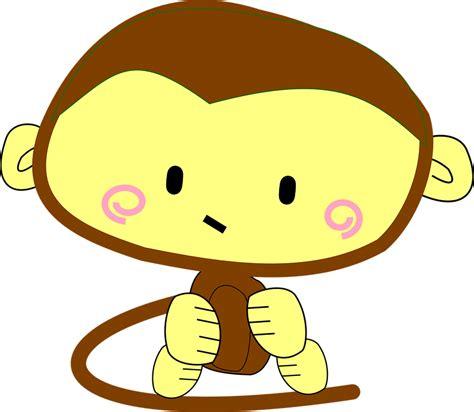 imagenes png free vector gratis mono brown dibujos animados imagen