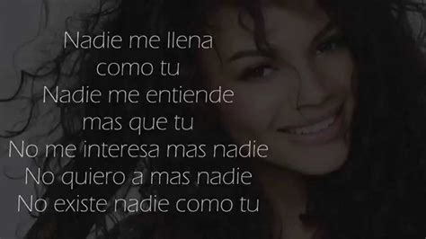 lyrics leslie leslie grace nadie como tu lyrics