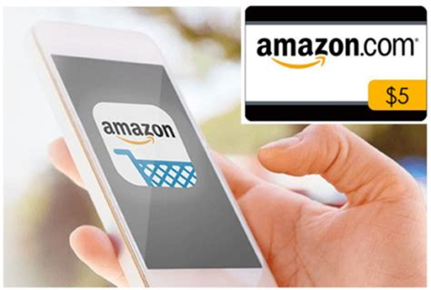 Amazon Gift Card Apps - free 5 amazon gift card