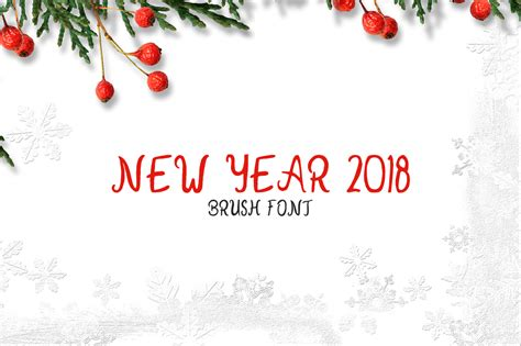 new year 2018 tanggal new year 2018 font by creative tacos creative fabrica