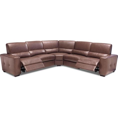 leather sectional sofa with power recliner leather sectional sofa with power recliner browning bluff