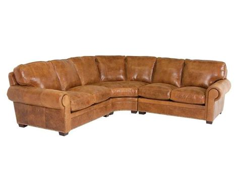 classic leather sectional classic leather kirby sectional sofa cl34429