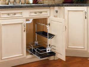 Kitchen Sink Cabinet Organizer Removable Undersink Caddy Basket Sink Cabinet Organizer