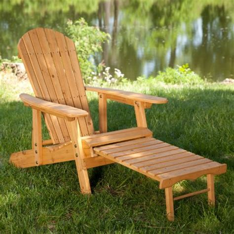 Reclining Adirondack Chairs Big Reclining Adirondack Chair Set With Free Side