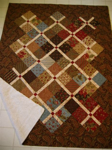 Quilt Designs Using Squares by Charm Square Quilt Blocks With Sashing Look At All Pics